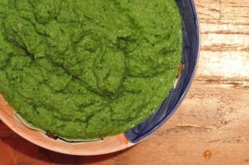 Vegan Lavender Celery Bisque