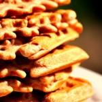 Gluten-Free Walnut Oat Waffles