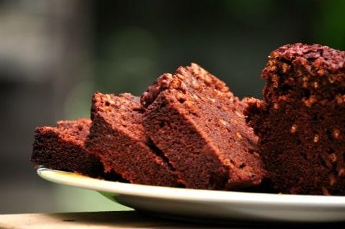 Веганский шоколадный кекс