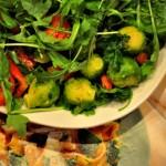 Brussels Sprout Vegan Gluten-Free Salad.