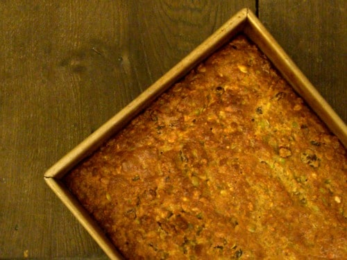 Sunflower Pistachio Squash Bread
