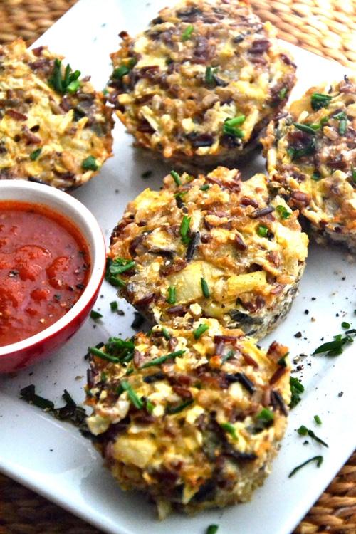 Gluten-Free Breakfast Muffins With Zucchini, Feta, And Quinoa Recipes ...