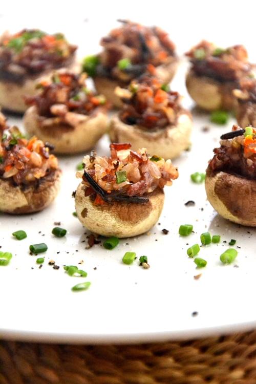 how to make stuffed mushrooms recipe