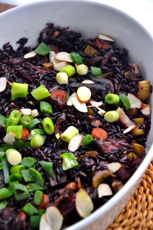 black black rice salad with thai black rice salad thai rice salad