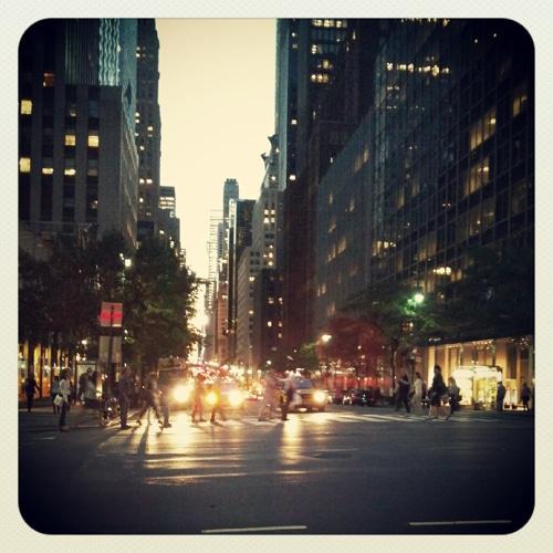 Instagram photo of city street