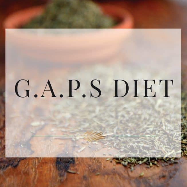 G.A.P.S. Diet