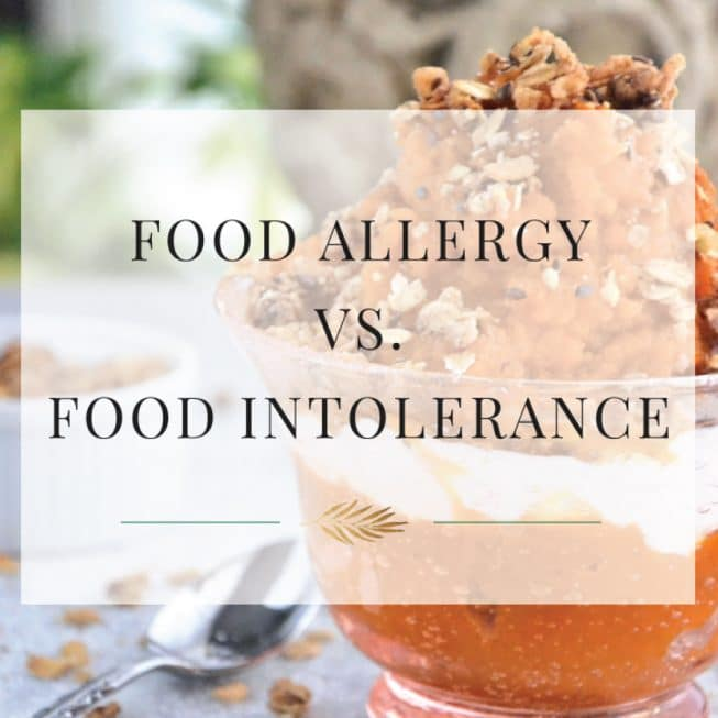 Food Allergy vs. Food Intolerance - The Healthy Apple