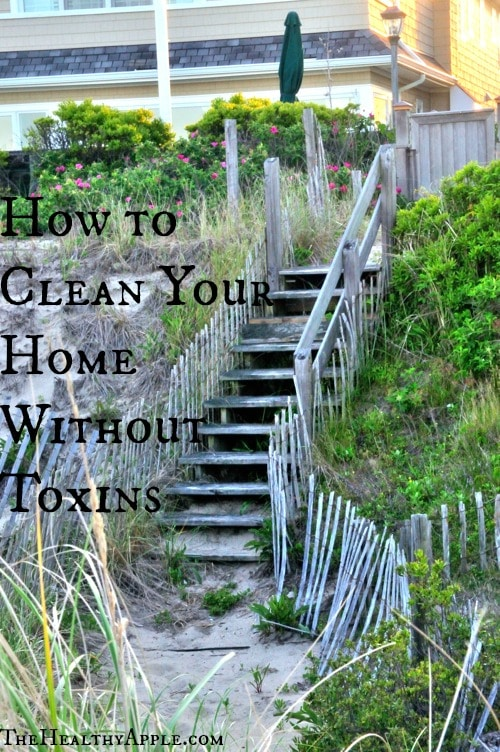 How to Clean Your Home Without Toxins