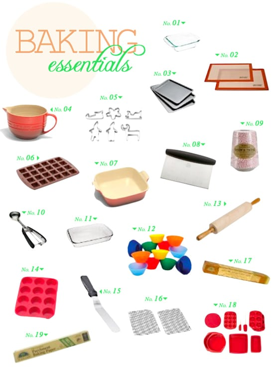 Baking Essentials - The Healthy Apple