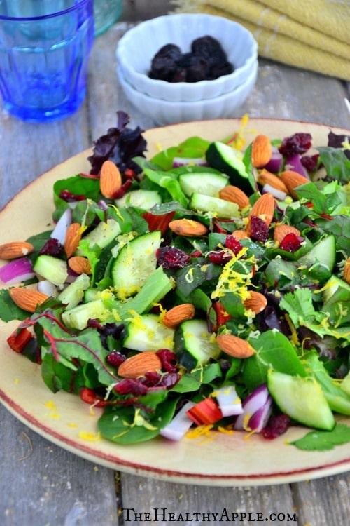 Swiss-Chard-Cranberry-Salad