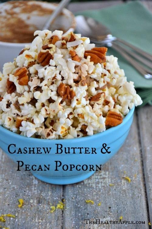 Gluten-Free-Cashew-Butter- Pecan-Popcorn