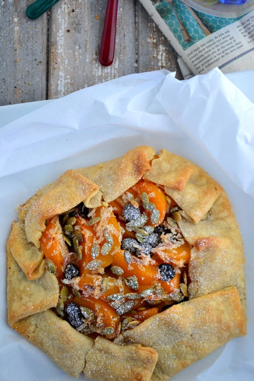 Holiday-Cranberry-Peach-Galette-Gluten-Free