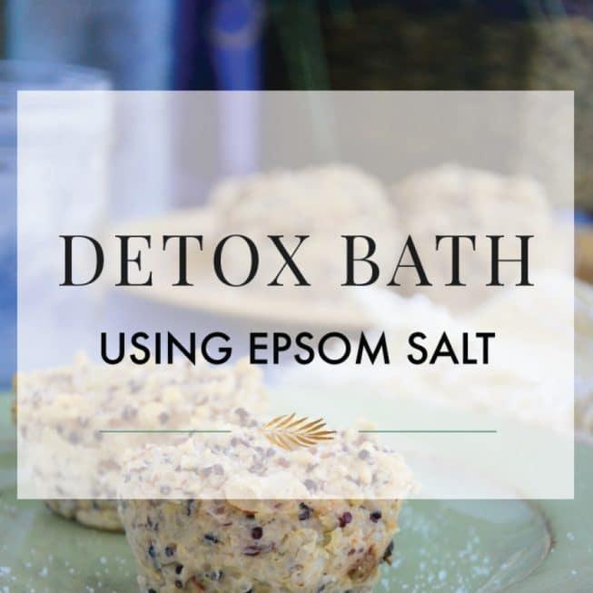 Epsom Salt Detox Bath How-To