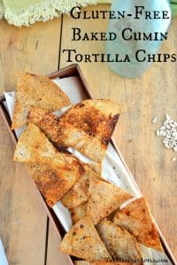 ... Recipes - The Healthy Apple | Gluten-Free Baked Cumin Tortilla Chips