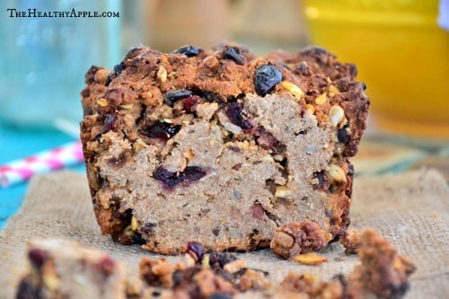 Celiac-Cranberry-Banana-Bread