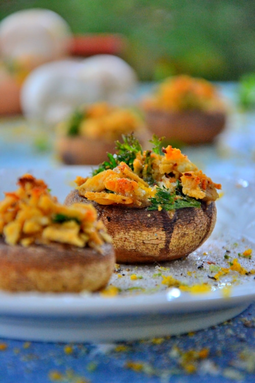 vegetarian-stuffed-mushroom-recipe