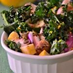 gluten-free-mushroom-kale-salad-vegan