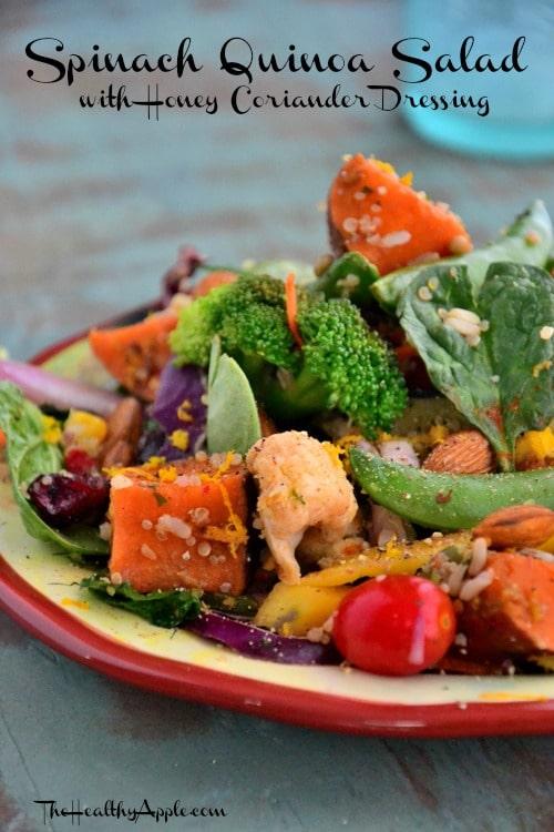 spinach-quinoa-salad-vegetarian-recipe