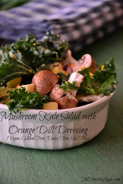 vegan-mushroom-kale-salad-recipe