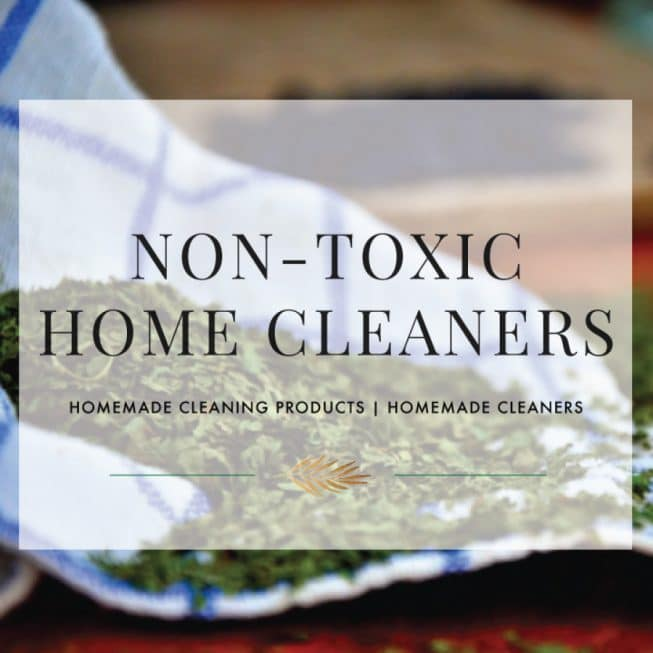 Non-Toxic Home Cleaners