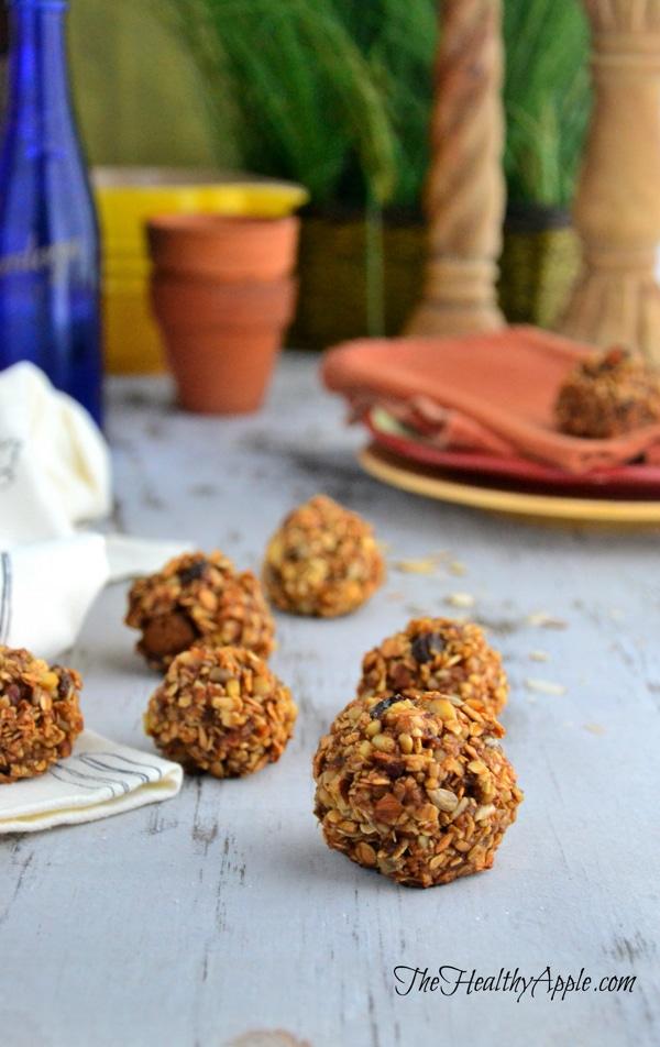 mini gluten-free cranberry balls