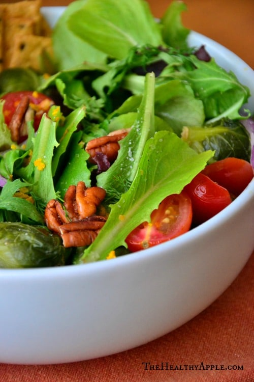 Vegetarian-Toasted-Walnut-Brussels-Sprouts-Salad-with-Orange-Poppy-Seed-Dressing