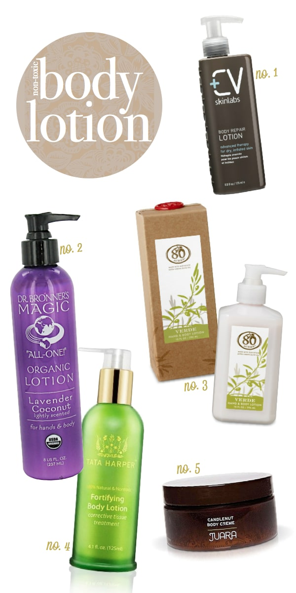 Non-Toxic-Body-Lotion-Products