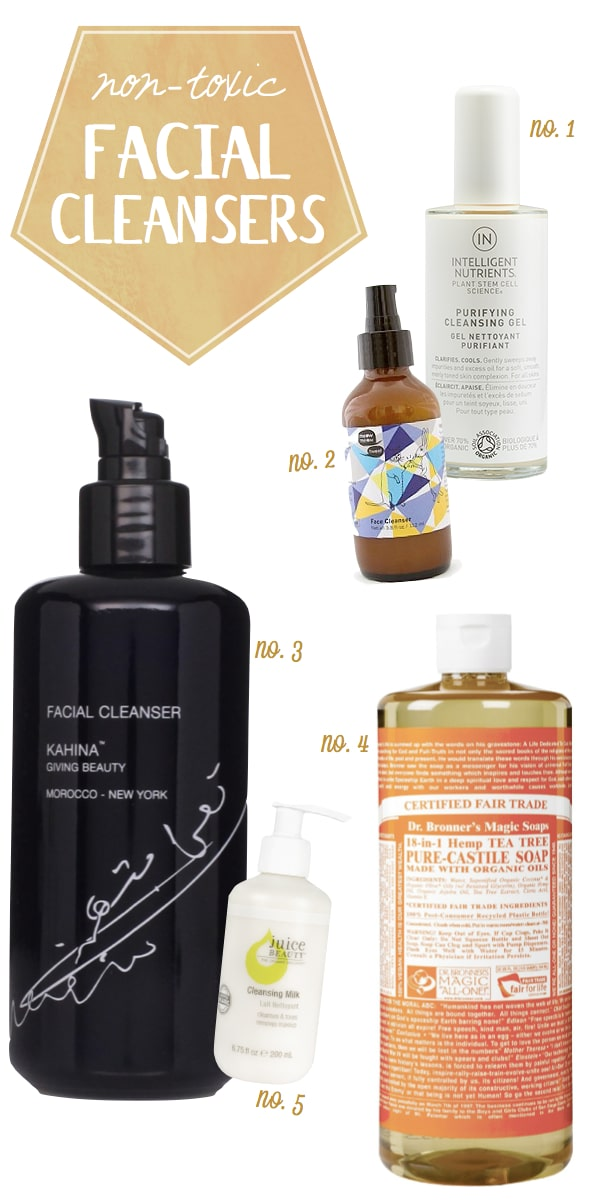 Non-Toxic-Facial-Cleansers