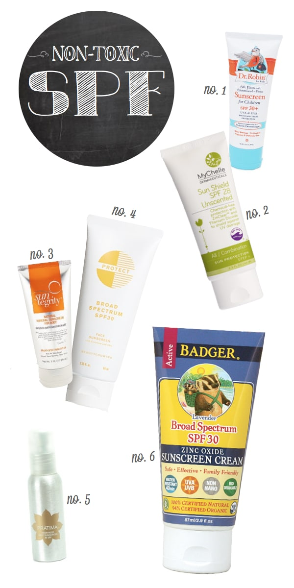 Non-Toxic-SPF-Sunscreen-Products
