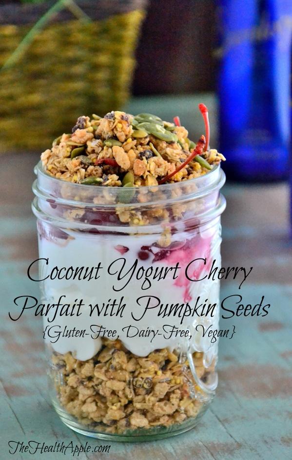 coconut-yogurt-cherry-parfait-with-pumpkin-seeds