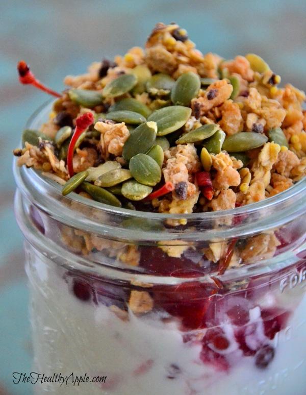 vegan-coconut-yogurt-cherry-parfait-with-pumpkin-seeds