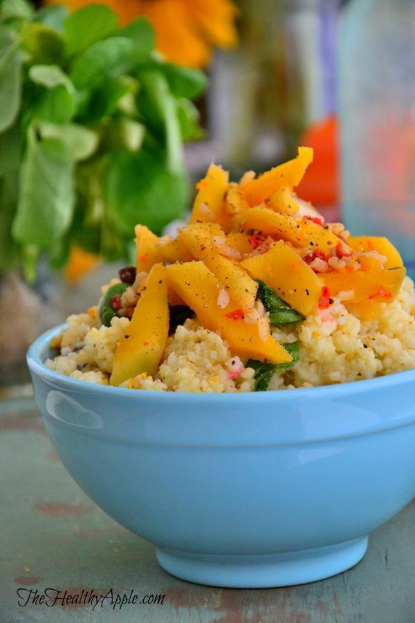 vegan-mango-millet-salad-lunch