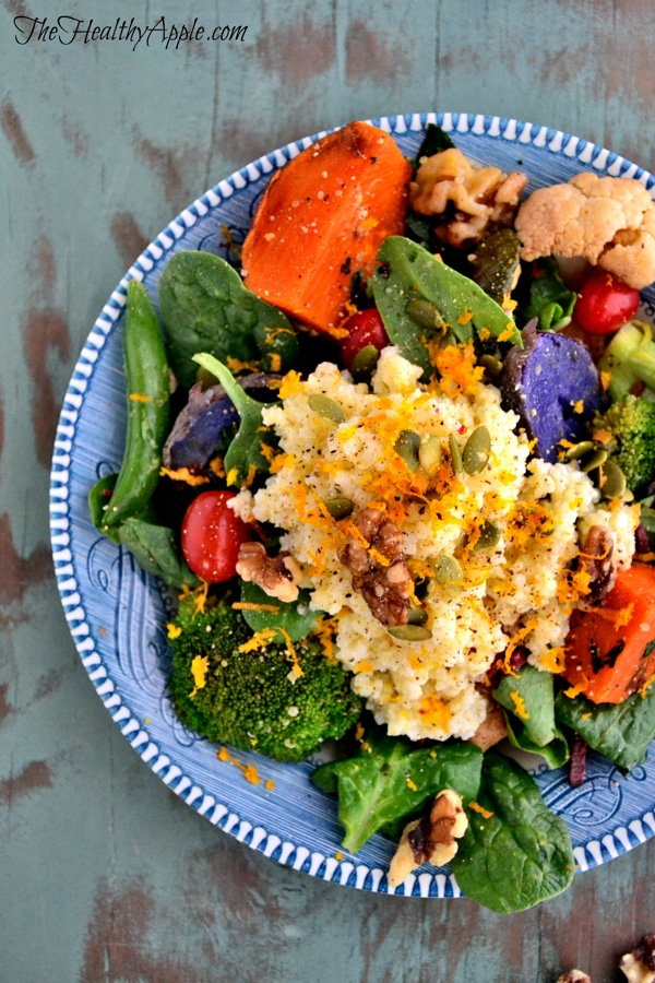 autumn-millet-with-lemon-tahini-dressing-dinner