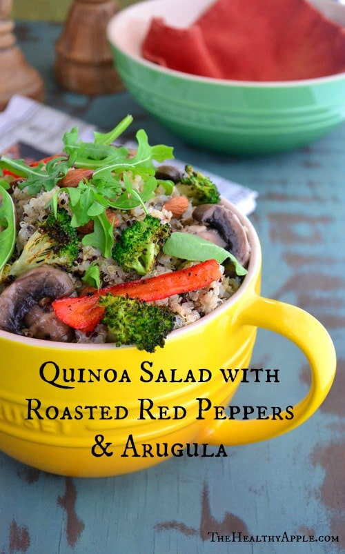 quinoa-salad-with-roasted-red-peppers-and-arugula