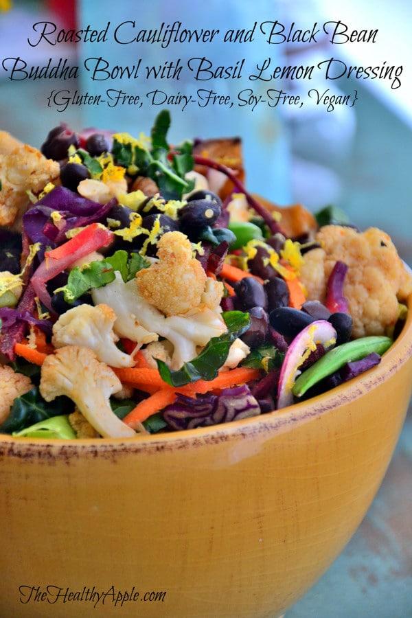 roasted-cauliflower-and-black-bean-buddha-bowl-with-basil-lemon-dressing
