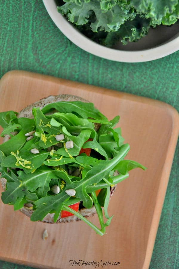 portabello-stuffed-apple-arugula-salads-recipe