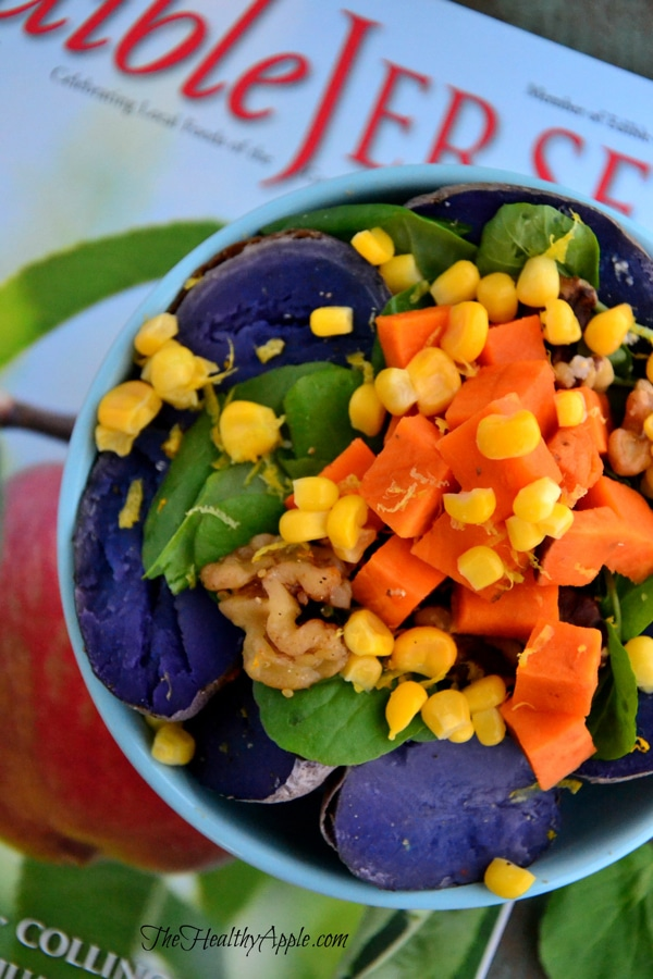 purple-potato-and-spinach-salad-with-walnuts-lunch