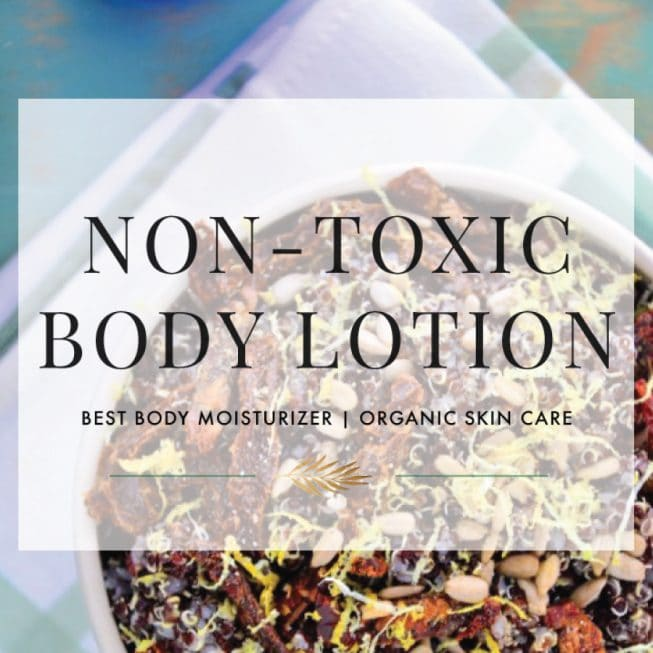 Non Toxic Body Lotion Products The Healthy Apple