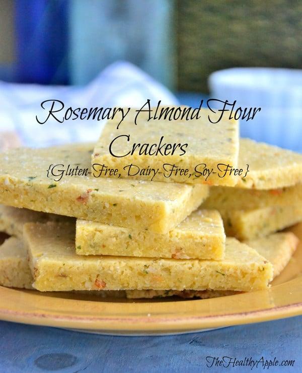 Gluten-free crackers | Almond flour recipes