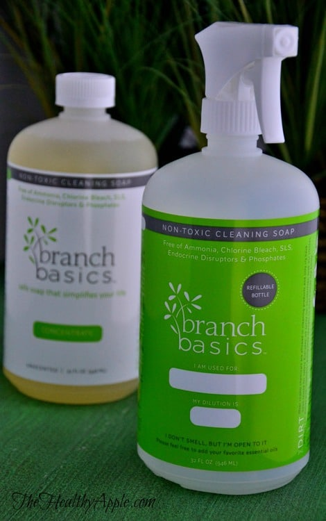 organic detox cleaning products