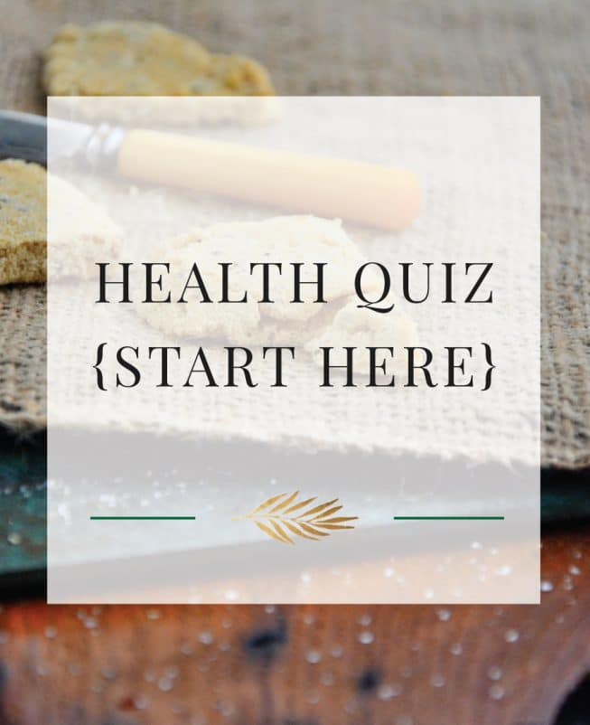 Health Quiz {Start HERE}