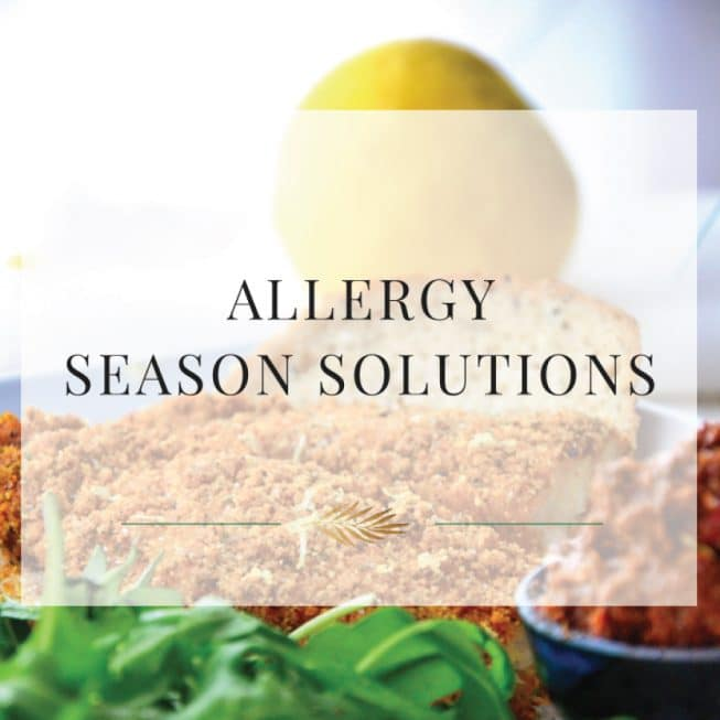 Allergy Season Solutions