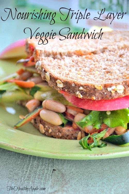 Vegan Sandwich Gluten Free