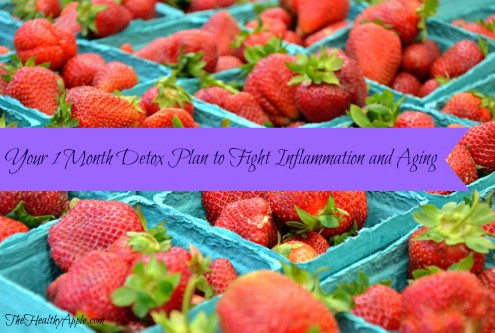 Your 1 Month Detox Plan to Fight Inflammation and Aging