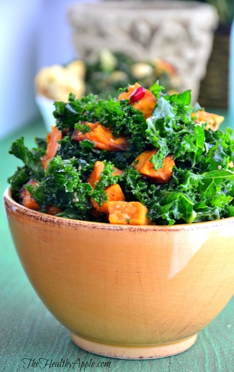 pomegranate-kale-salad-detoxing