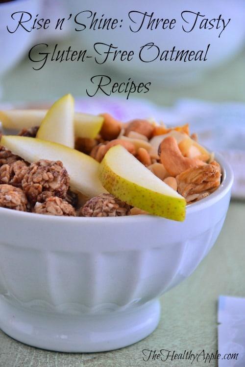 Three Tasty Gluten-Free Oatmeal Recipes-Celiac