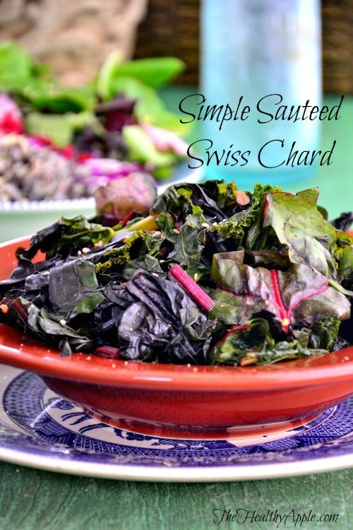 How to Get More of What You Want Out of Life & Sauteed Swiss Chard