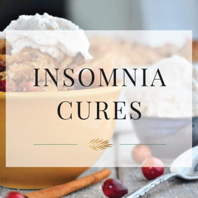 Insomnia Cures