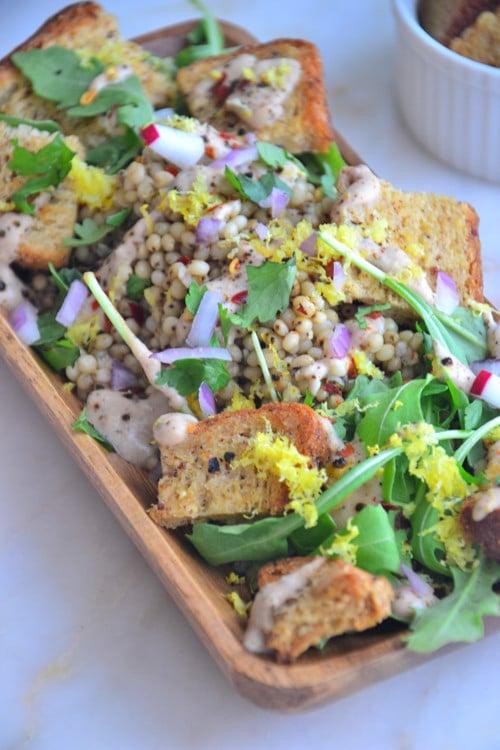 Vegan Sorghum Salad
