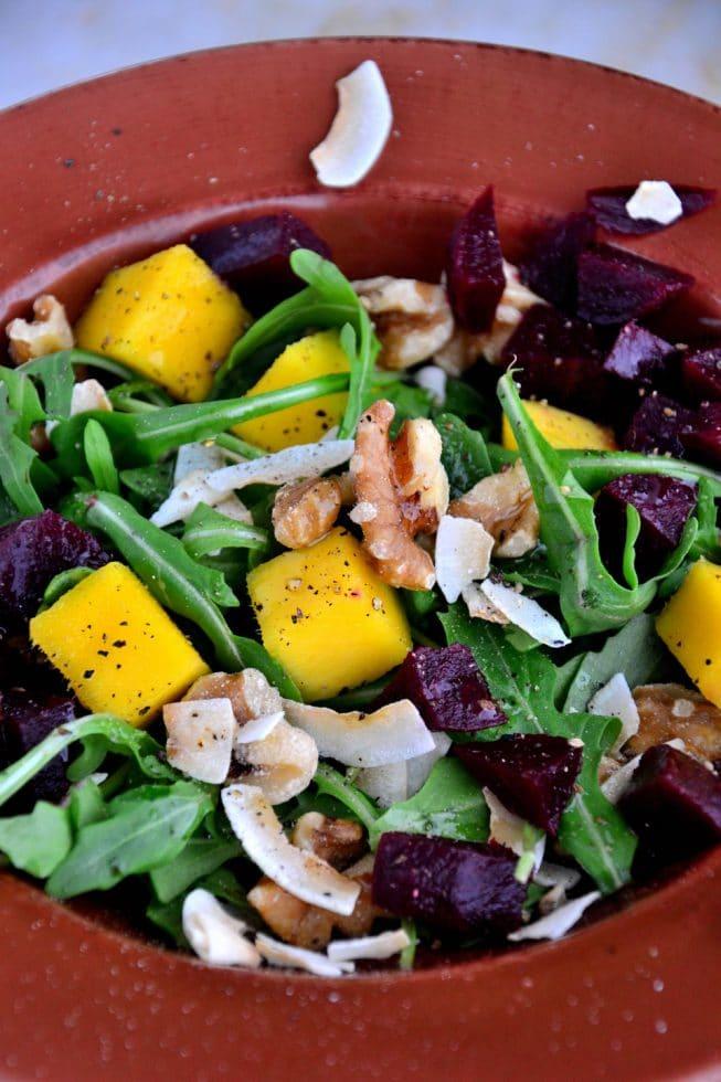 Vegan Mango Salad